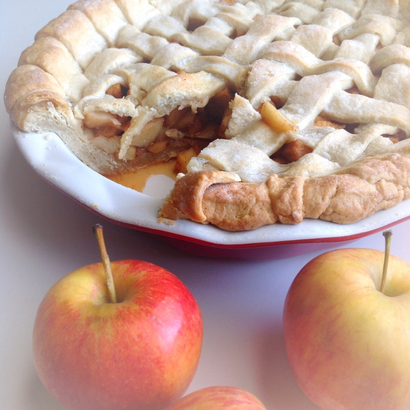 Lattice classic Apple pie