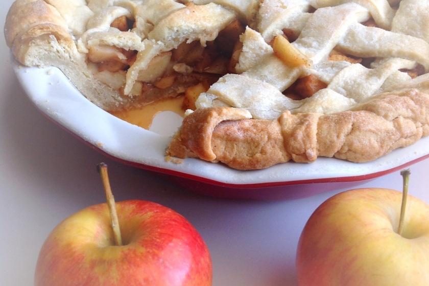Lattice classic Apple pie