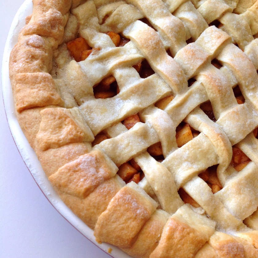Lattice Apple pie crust