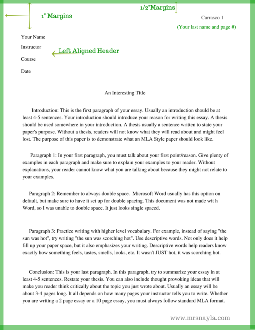 narrative style essay mla outline mla outline example outline